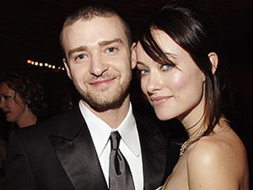 Джастин Тимберлейк (Justin Timberlake) и Оливия Уайлд (Olivia Wilde) на вечеринке