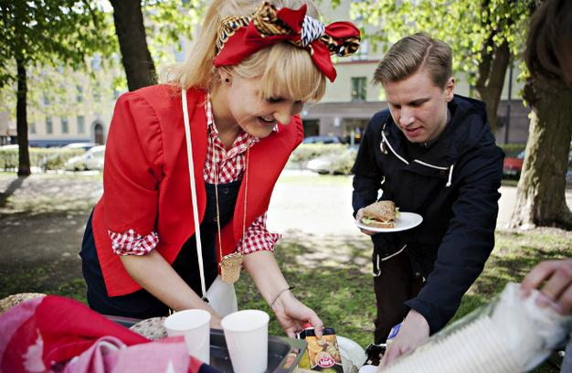 Ресторанный день в Петербурге
