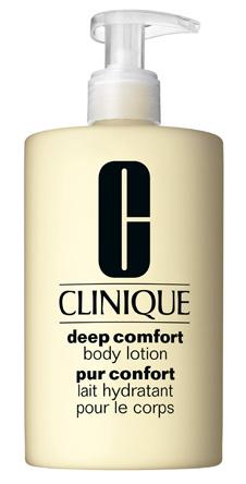 Смягчающее молочко для тела Deep Comfort Body Lotion, Clinique увлажняет, придает коже свежесть и здоровое сияние. Мгновенно впитывается.