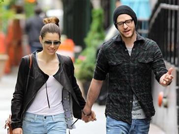 Джессика Бил (Jessica Biel) и Джастин Тимбердейк (Justin Timberlake)