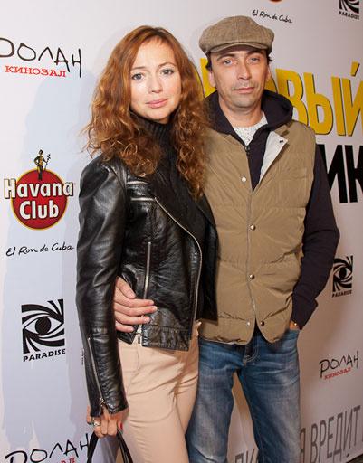 Елена Захарова с мужем