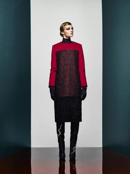 Хозяйка Медной горы: новая pre-fall коллекция A LA RUSSE Anastasia Romantsova   галерея [1] фото [2]