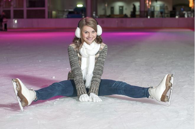 Девушка на коньках, фото