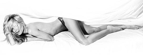 Хайди Клум в рекламной кампании Heidi Klum Intimates