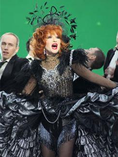 Съемки проекта «Я-легенда» украинского телеканала «ИНТЕР». Январь 2011 года.