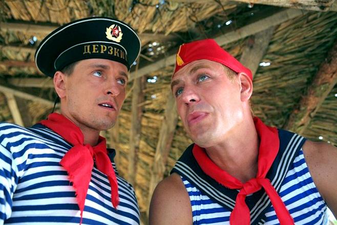 Сергей Безруков и Дмитрий Дюжев