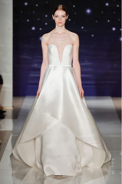 50 самых красивых платьев со Свадебной Недели Моды в Нью-Йорке | галерея [1] фото [20]
