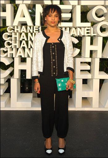 Zoe Kravitz в Chanel