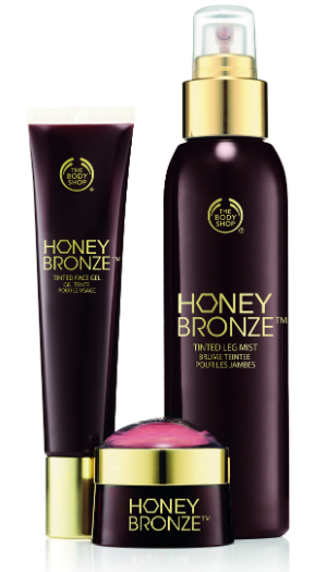 Коллекция средств Honey Bronze от The Body Shop