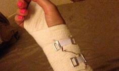 Лера Кудрявцева получила серьезную травму