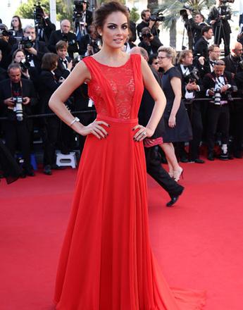 Химена Наваррете (Ximena Navarrete) на церемонии закрытия 66-го Каннского кинофестиваля