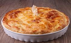 Сытный вкус пирога с мясом и картошкой