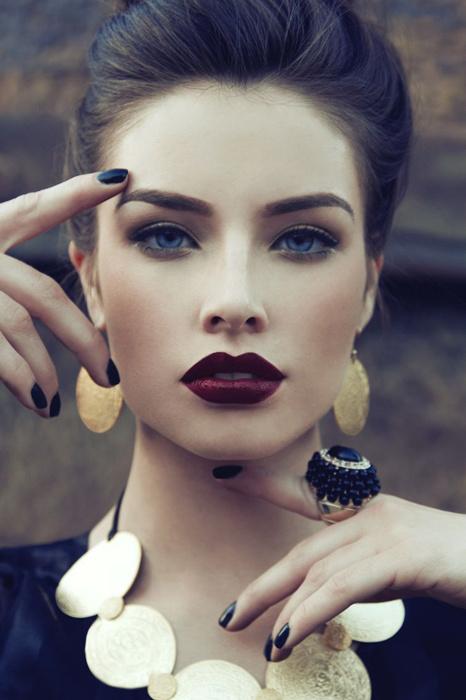 Профессиональный макияж, фото