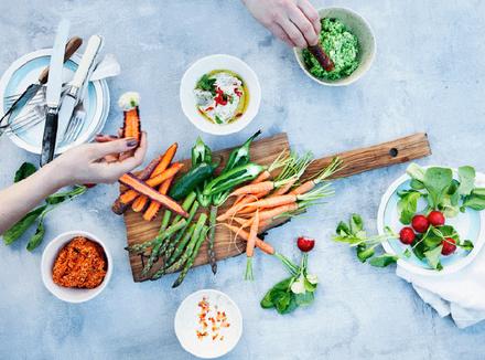 Вегетарианский набор продуктов