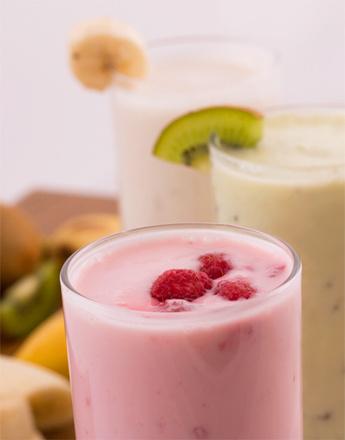 Молочный коктейль с инжиром