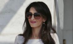 Миссис Клуни вернулась в Лондон
