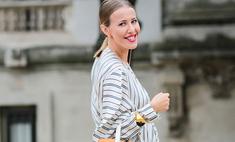 Уже видно: фото беременной Собчак на Неделе моды в Париже