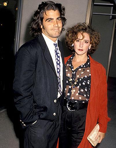 Джордж Клуни (George Clooney) и Талия Балсам (Talia Balsam)