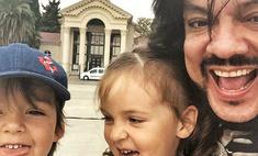 Дочь Киркорова в четыре года говорит по-английски