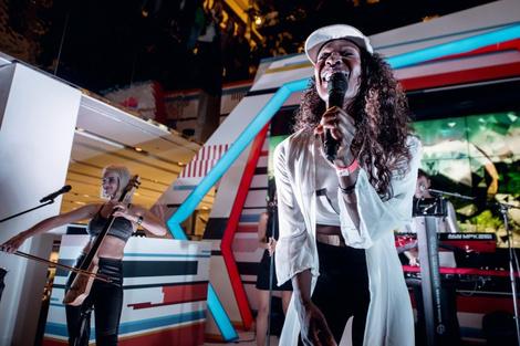 В «Цветном» состоялся концерт группы Clean Bandit | галерея [1] фото [1]