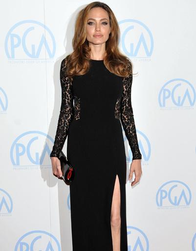 Анджелина Джоли (Angelina Jolie) на ежегодной премии Гильдии продюсеров США, 2012 год