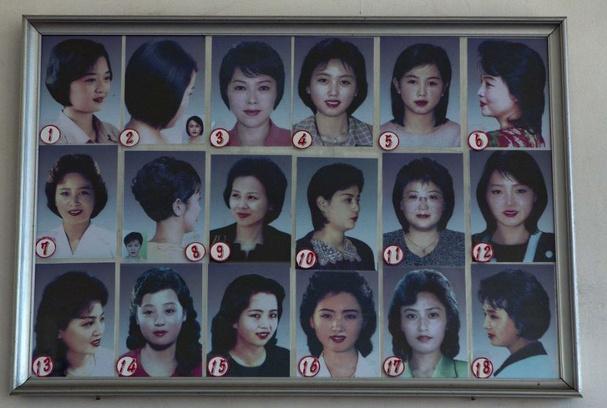 Прически для женщин в Северной Корее