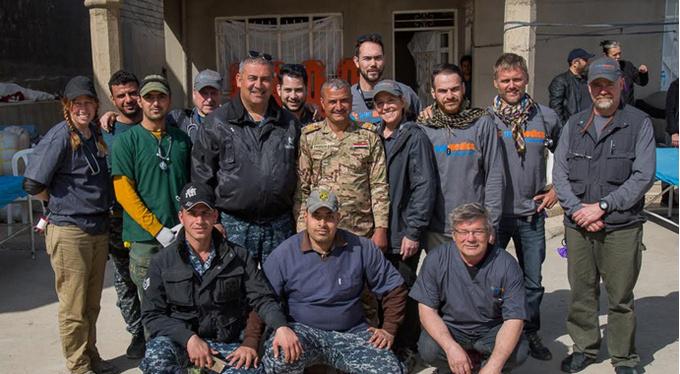 «Я работала волонтером в Ираке»