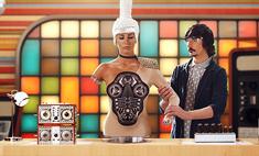 Кэти Топурию превратили в робота. Видео
