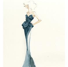 Голубая кровь: 10 дизайнерских платьев для принцесс