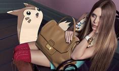 Покемоны стали звездами в рекламе Gucci и Prada