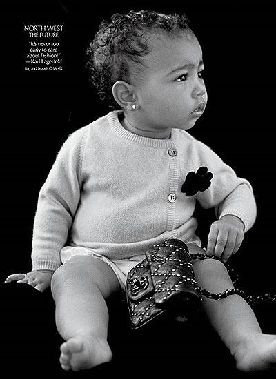 Ким Кардашьян Норт Уэст фото 2014