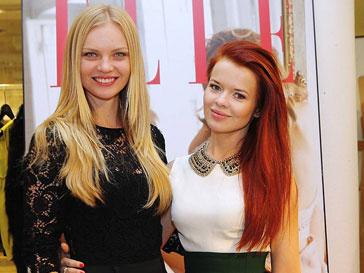 Елена Кулецкая и Лена Князева на шопинг-дне Elle в бутике DVF