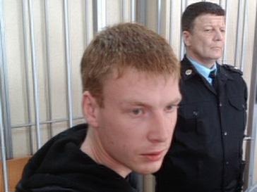 Егор Бычков в суде