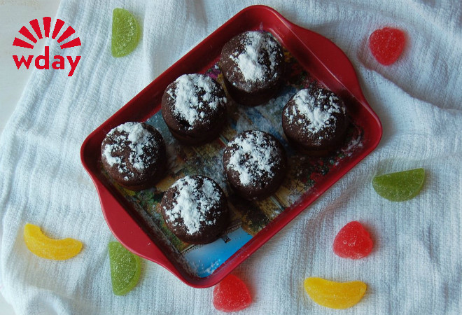 Постные кексы с вишней: рецепт фото