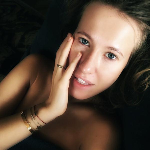 Ксения Собчак без макияжа: фото 2016