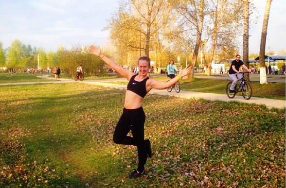 Олеся Ушакова из Красноярска любит бег