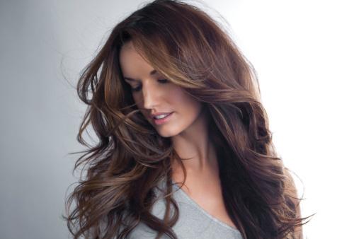 как красиво распустить волосы
