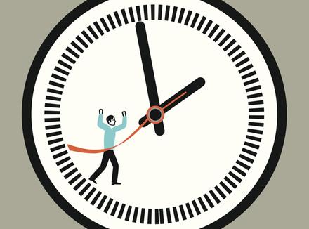 Человек и часы