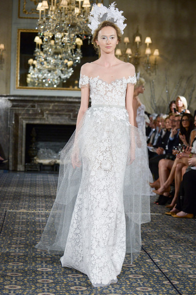 50 самых красивых платьев со Свадебной Недели Моды в Нью-Йорке | галерея [1] фото [1]