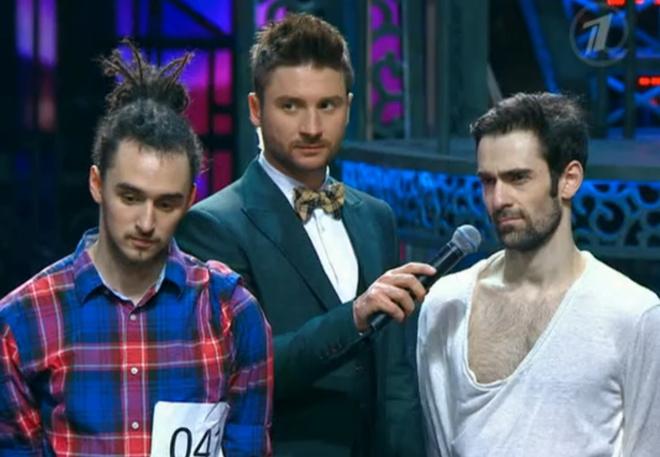 Арсен Агамалян в шоу «Танцуй!»