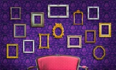 Сложная задача для дизайнера - фиолетовый цвет в интерьере