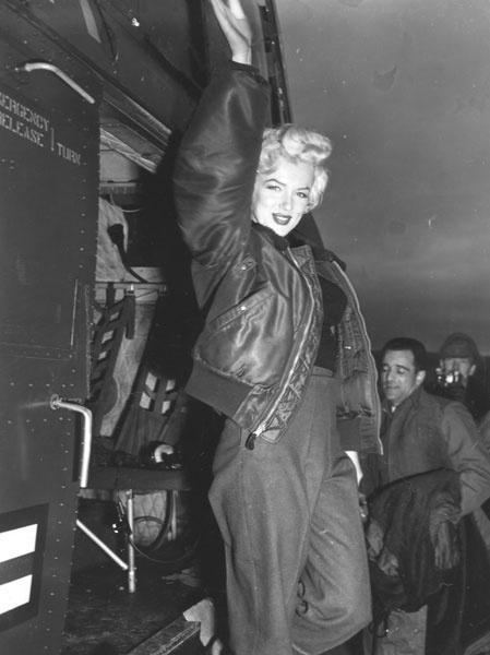 Мэрилин Монро, 1954 год