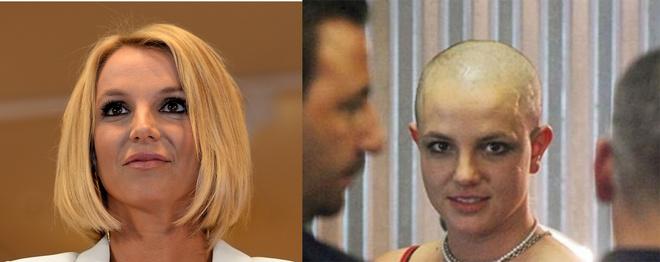 Бритни Спирс побрилась налысо, фото