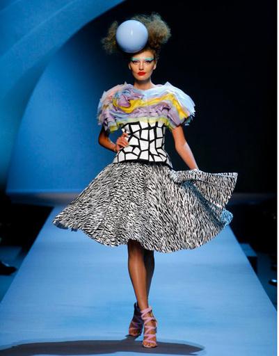 Показ Dior Haute Couture осень-зима 2011-2012