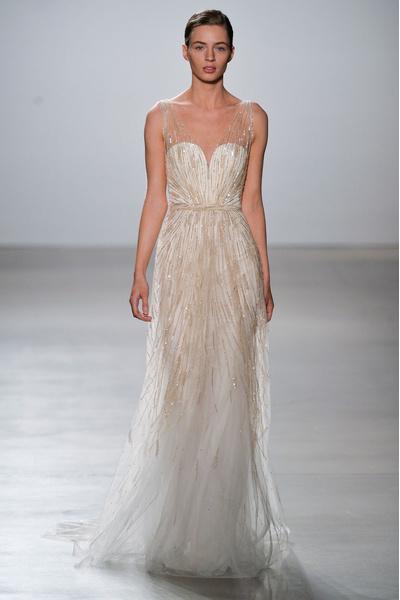 50 самых красивых платьев со Свадебной Недели Моды в Нью-Йорке | галерея [1] фото [49]
