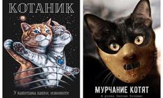 Как выглядели бы постеры блокбастеров, если б в главных ролях снялись котики
