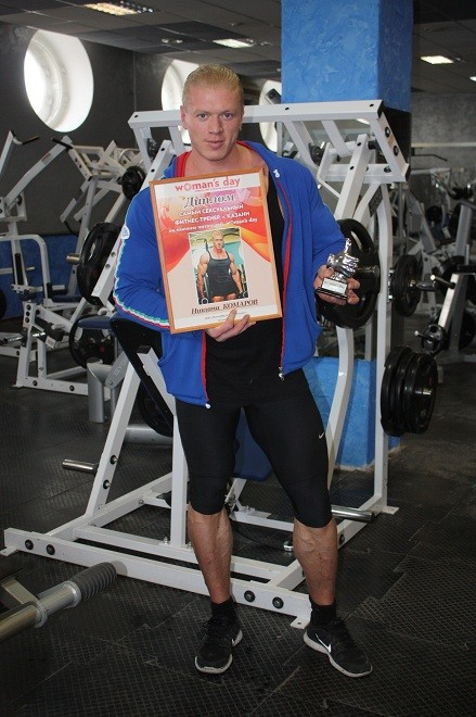 Никита Комаров, фитнес-инструктор, Казань