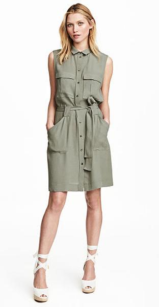 Платье-рубашка H&M, фото