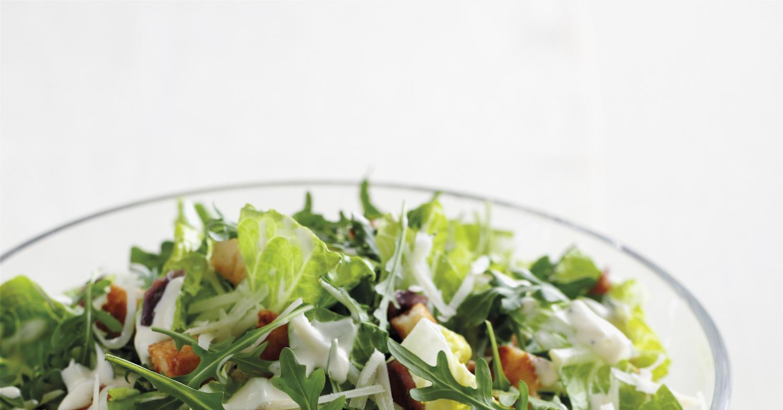 Белый соус для салата рецепт