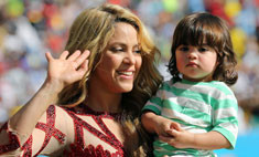 Стиль звезд: Шакира с сыном на финале ЧМ-2014